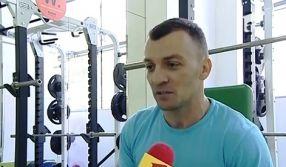 Mihail Boldea, într-o pauză la sala de forță