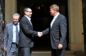 Ponta și Iohannis merg împreună pînă la proba contrarie
