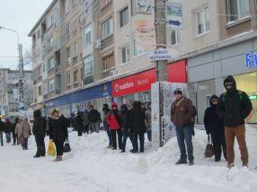 Oamenii au așteptat minute în șir un mijloc de transport în comun