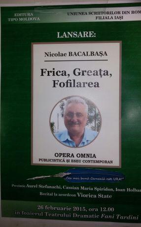 Cartea de treflă scoasă din mînecă de Nicolae Bacalbașa