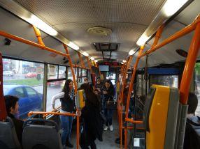 Media de vîrstă a călătorilor din autobuzele Transurb a scăzut brusc