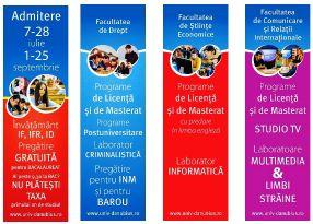 """Admitere 2015 la Universitatea """"Danubius"""": licență, masterat, cursuri postuniversitare și școală postliceală"""
