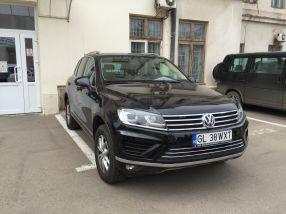 Primarul Stan a achiziționat din banii primăriei acest Volkswagen Touareg, de 70.000 de euro, pentru a fi la înălțime la întîlnirile oficiale