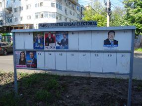 Este părăseală mare la insectarele electorale din Galați