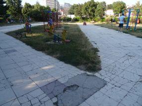 Parcul Cloșca se prezintă într-o stare deplorabilă. Și asta de ani de zile