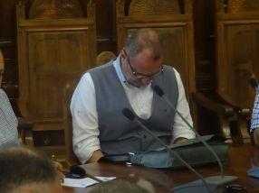 Marian Alexandru, noul director al Calorgal, cu capul sub masă