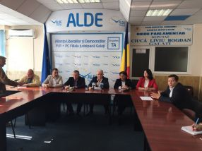 ALDE Durbacă la masa tristetii