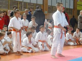 Cupa Moldovei la kyokushin, desfăsurată la Galati, a adunat peste 200 de copii la Sala Siderurgistul