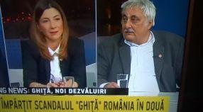 Deputatul PSD Galati Nicolae Bacalbasa s-a dat în stambă în studioul B1TV