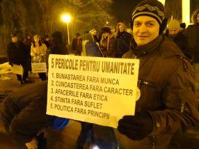 Proteste Galati, ziua 17. Urmează uichendul, cu vreme bună