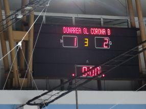Scor final, 2-1 pentru Corona Brasov