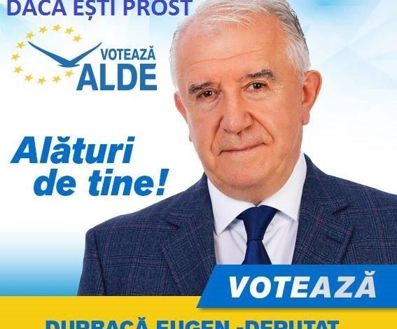 Eugen Durbacă, machiat și photoshopat ca să dea bine la electorat (foto)