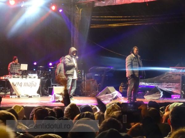 Andra și BUG Mafia s-au plîns de frig, la Zilele Galațiului 2016 (video)