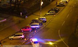 Parcarea publică de la Romarta, blocată cu Poliția pentru a face loc șmecherilor PSD Galați (foto)
