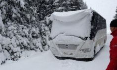 11 cetățeni austrieci, surprinși de viscol în trafic, la Cudalbi