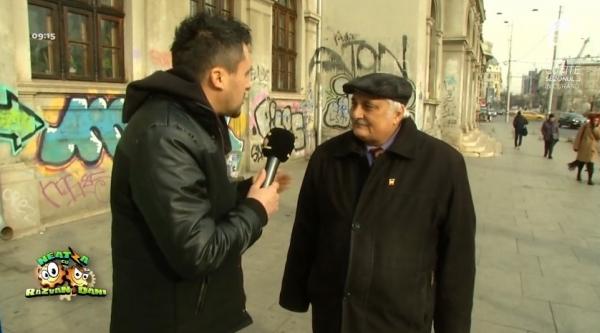 """Nicolae Bacalbașa, bufon la """"Răzvan și Dani"""" (video)"""