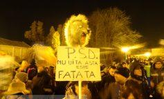 """Galațiul s-a trezit de-a binelea: 7.000 de """"putori"""" în stradă! (video)"""