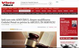 Greața Liberă a acceptat bani pentru a răspîndi minciunile lui Dragnea & Comp
