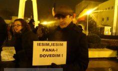 """Pe o vreme la fel de odioasă ca PSD-ul, gălățenii au strigat: """"Nu ne păcăliți, rămînem uniți!"""""""