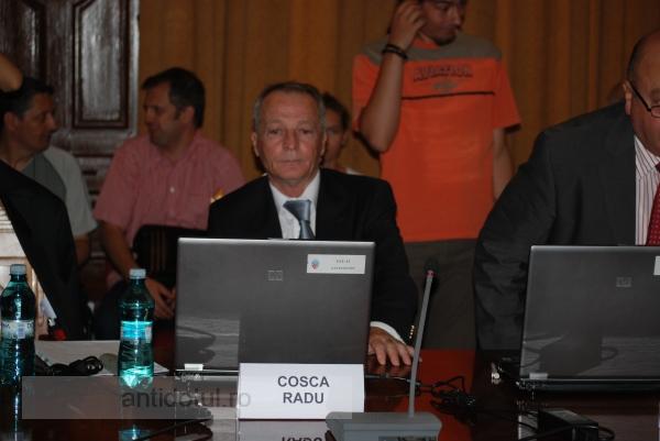Radu Cosca a comis o aroganță la început de mandat