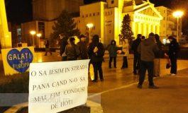 Protestatarii din Galați au ieșit cu bine din iarnă: urmează o primăvară lungă, cu ieșiri în stradă