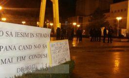 25 de secui și unguri au protestat vineri la Galați: ei au cerut autonomia Ținutului fără Hoți