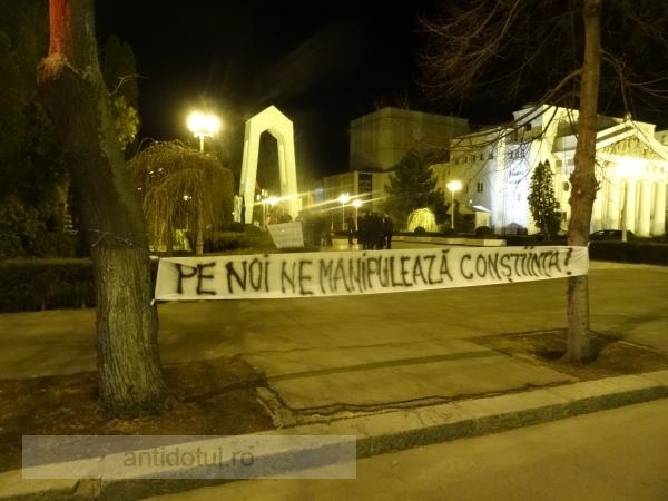 Duminică, la ora 16.00, protest spectaculos în fața Prefecturii Galați (video)