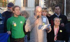 """A apărut """"Proclamația de la Galați"""", în a 62-a zi de proteste (foto)"""
