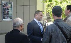 Alegeri comuniste și triste în PNL Galați, cu unicul candidat George Stângă tare vesel  (foto)