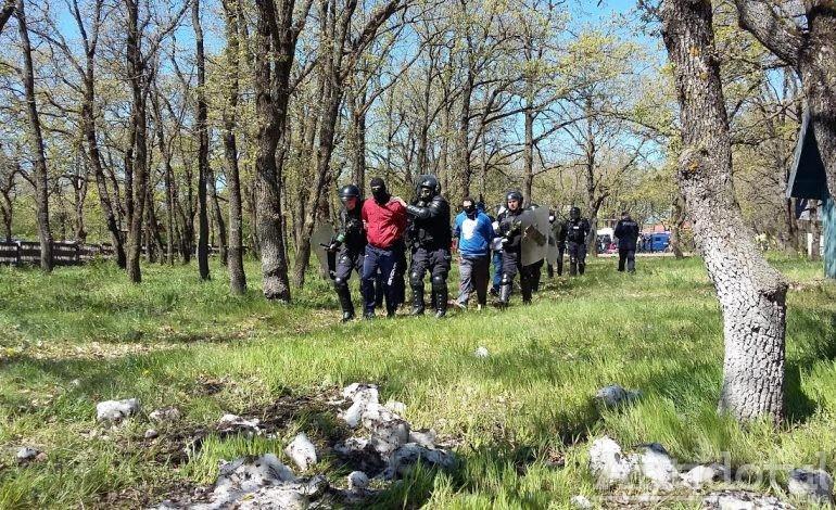 Au speriat animalele de la Zoo: sute de jandarmi, polițiști și pompieri au participat la un exercițiu în Pădurea Gîrboavele