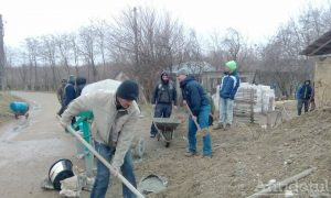 Casă construită cu ajutorul voluntarilor