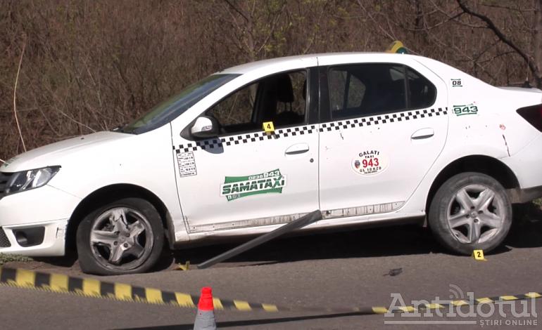 Pentru că orașul Galați urma să fie lovit de o bombă, un cetățean a bătut un taximetrist și i-a furat mașina!