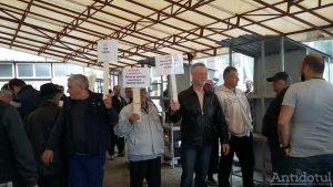 Protest în Piața Mare