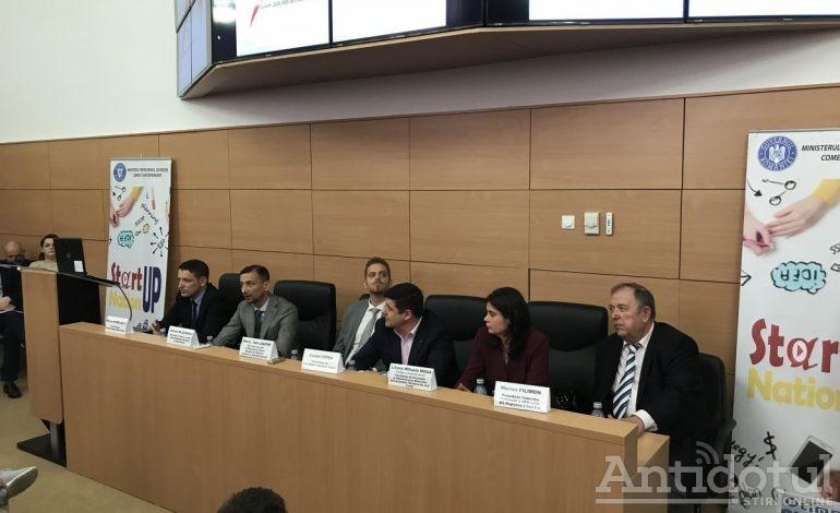 Gălățenii s-au bulucit efectiv la prezentarea programului Start-up Nation