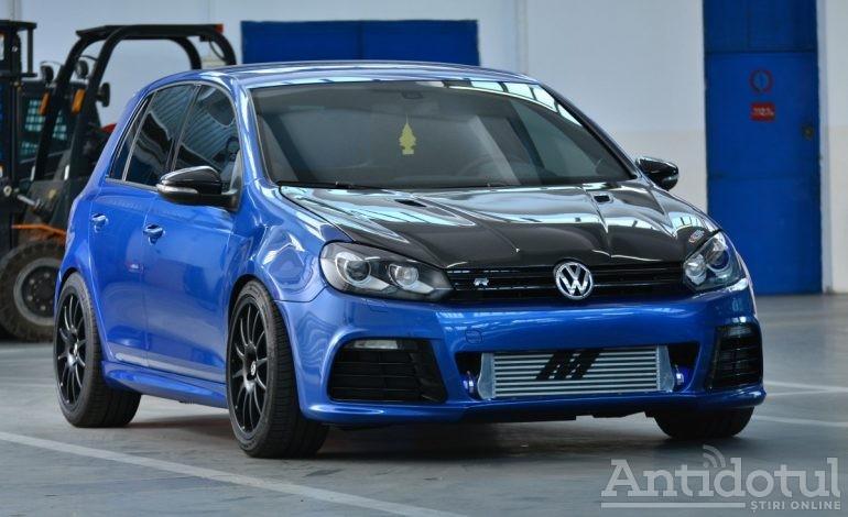 Fiul lui Liviu Dragnea a spart 80.000 de euro ca să tuneze un VW Golf pe care l-a adus la 770 de cai putere (foto)