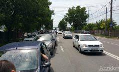 A fost protest pe Drumul de centură: zeci de șoferi au blocat prima bandă fiind nemulțumiți de felul în care arată șoseaua