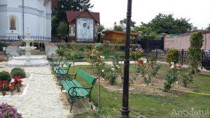 Parc închis în mijlocul orașului