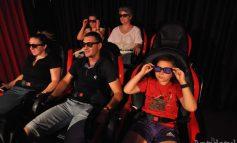 Un OZN a aterizat în praful din Galați: este vorba despre primul cinematograf 12D din România!