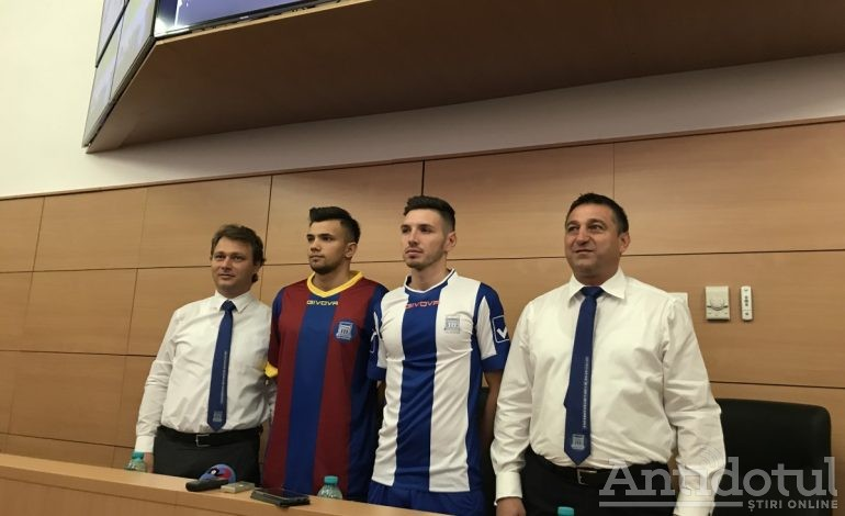 VIDEO: Universitatea și-a tras echipă de fotbal
