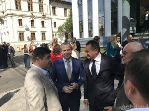 Inaugurare Primăria Galați