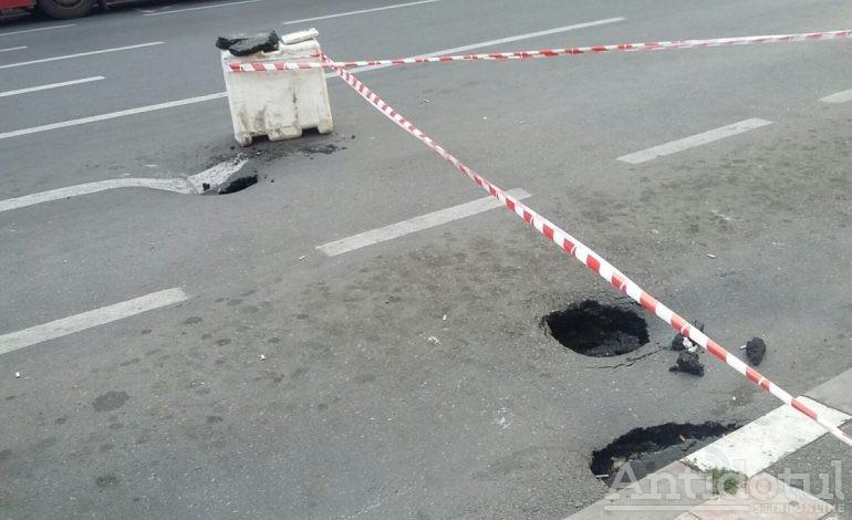 Road to hell începe din stația de taxi din centrul orașului Galați