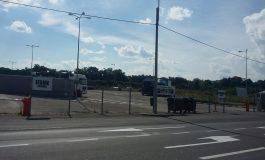 Investiție inutilă: Primăria Galați a investit o sută de mii de euro într-o parcare pentru tiruri care nu este folosită