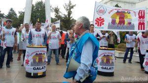 Protest Cartel Alfa Galați