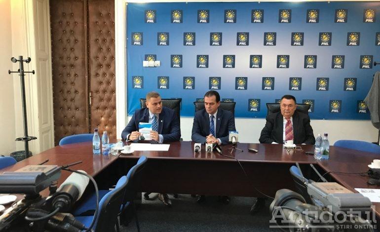 Ludovic Orban a venit de la București ca să afle că liberalii gălățeni nu știu încă cum să voteze în cazul Cavoului Roman
