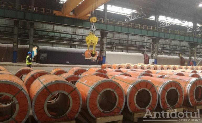 Combinatul siderurgic Liberty Galați umblă cu ținta mărită