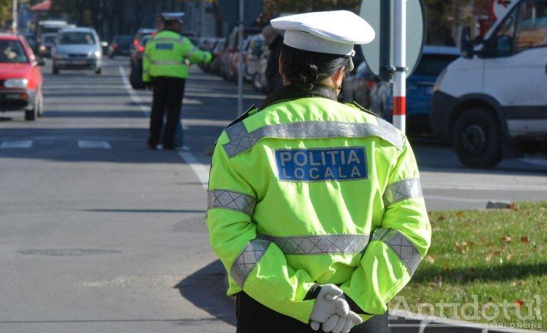 Amenzi pe bandă rulantă la Galați: polițiștii locali întocmesc un proces verbal la fiecare 1.600 de secunde