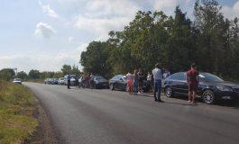 Le-a ajuns planetara la os: zeci de șoferi au organizat un protest pe DN24D Galați-Cuca-Bîrlad
