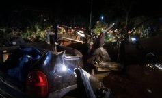 Galerie foto/Grav accident de circulație la Vînători: un tînăr a murit și alți trei au ajuns în stare gravă la spital