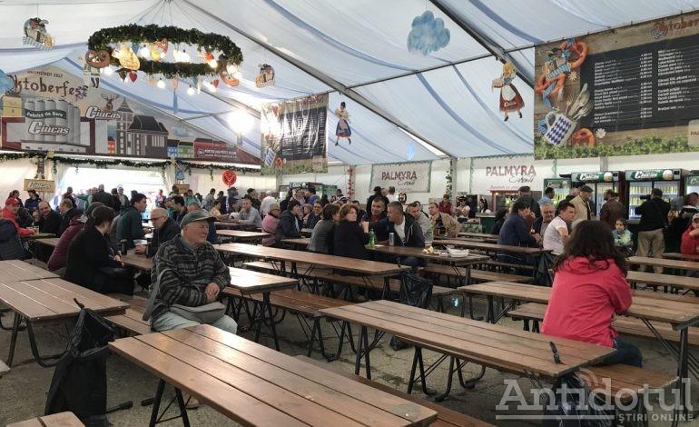 Primăria Galați minte de îngheață Oktoberfestul din berea Ciucaș
