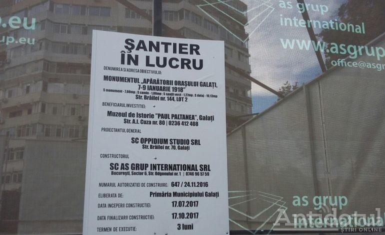 Galerie foto/Ba se construiește în orașul Galați: la Stirex o să apară un monument